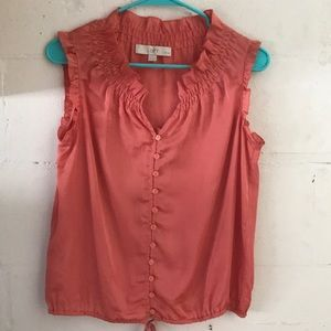 Peach or Salmon Blouse